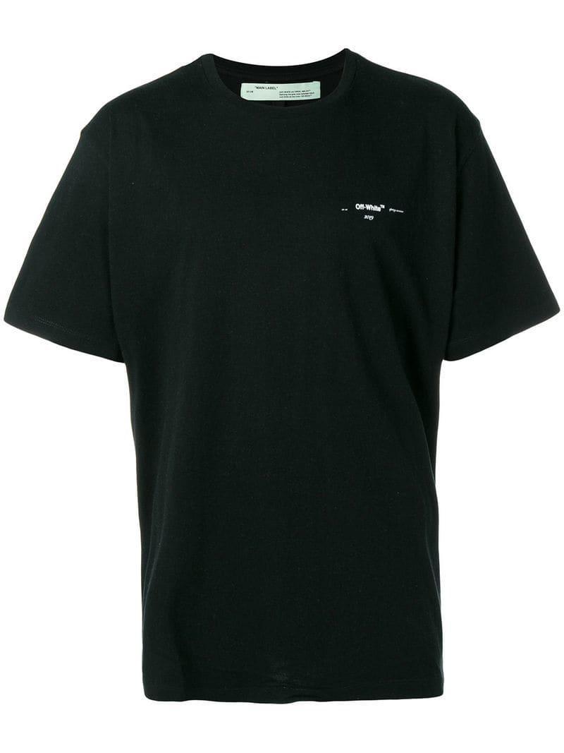 3e3d311b5dcb Lyst - Off-White c o Virgil Abloh Coloured Arrow-print T-shirt in ...
