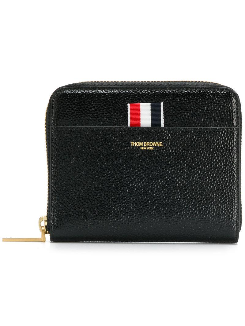 small zipped purse - Black Thom Browne zUjwO