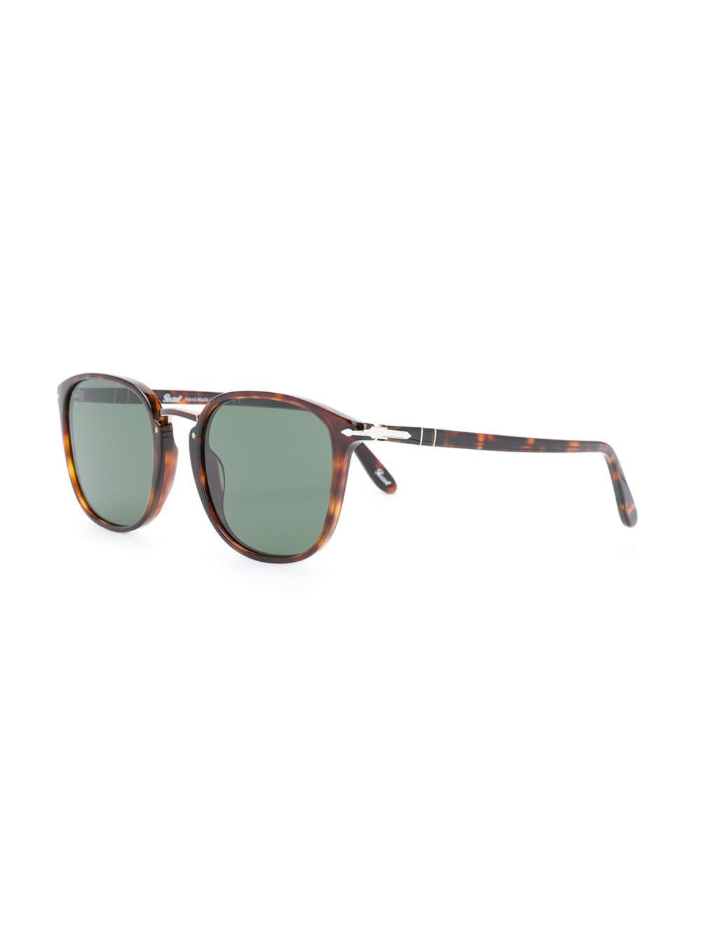 34b2df68d9 Lyst - Persol Square Frame Sunglasses in Brown