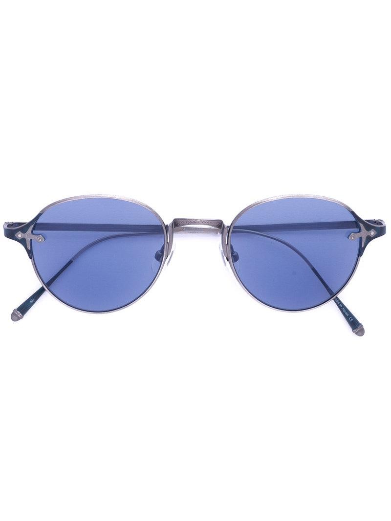 round shaped sunglasses - Metallic Matsuda epziyuer