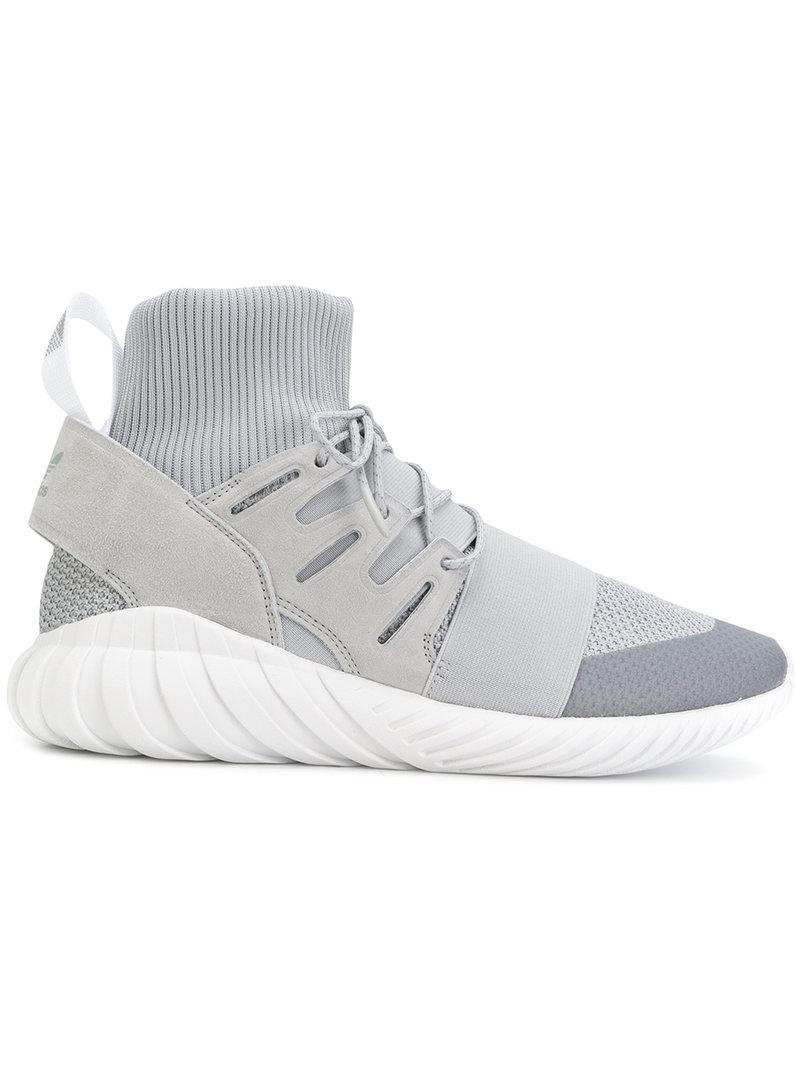 5334a2c86851 Lyst - Adidas Tubular Doom Winter Sneakers in Gray for Men