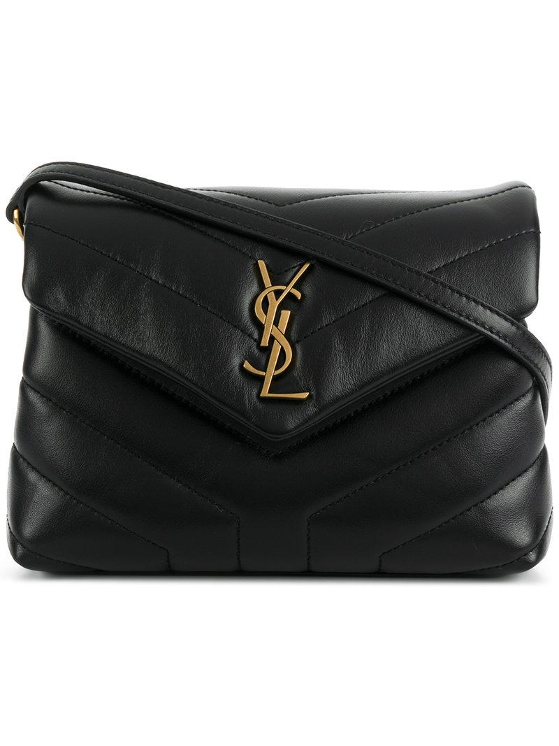 Saint Laurent Toy Loulou Shoulder Bag in Black - Save 5% - Lyst 2dcb8b682730c