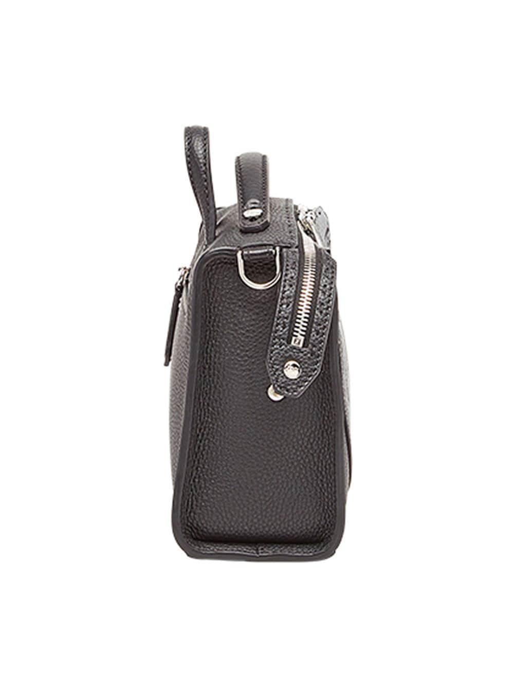 c8b2850de6a4 Lyst - Fendi Logo-stamp Lui Bag in Black for Men
