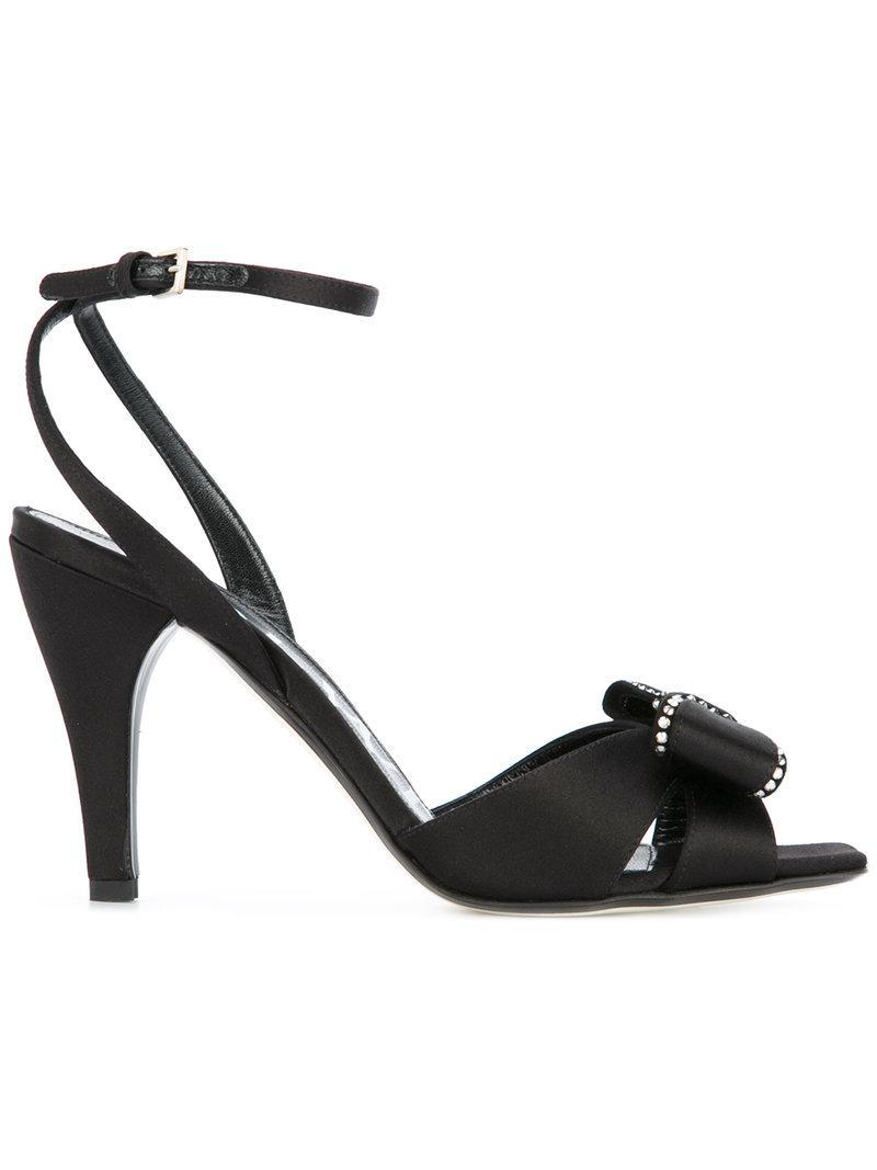 Loewe Bow detail sandals QWrOQpk
