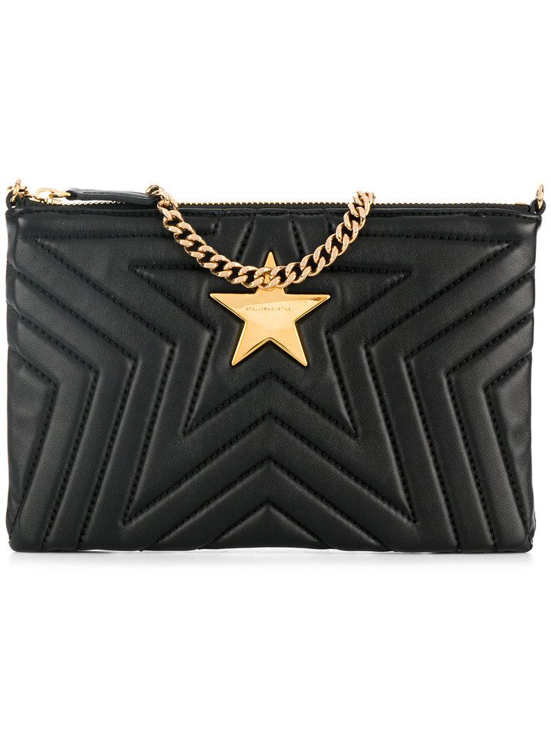 Stella McCartney stella star clutch jxDxmJoO2