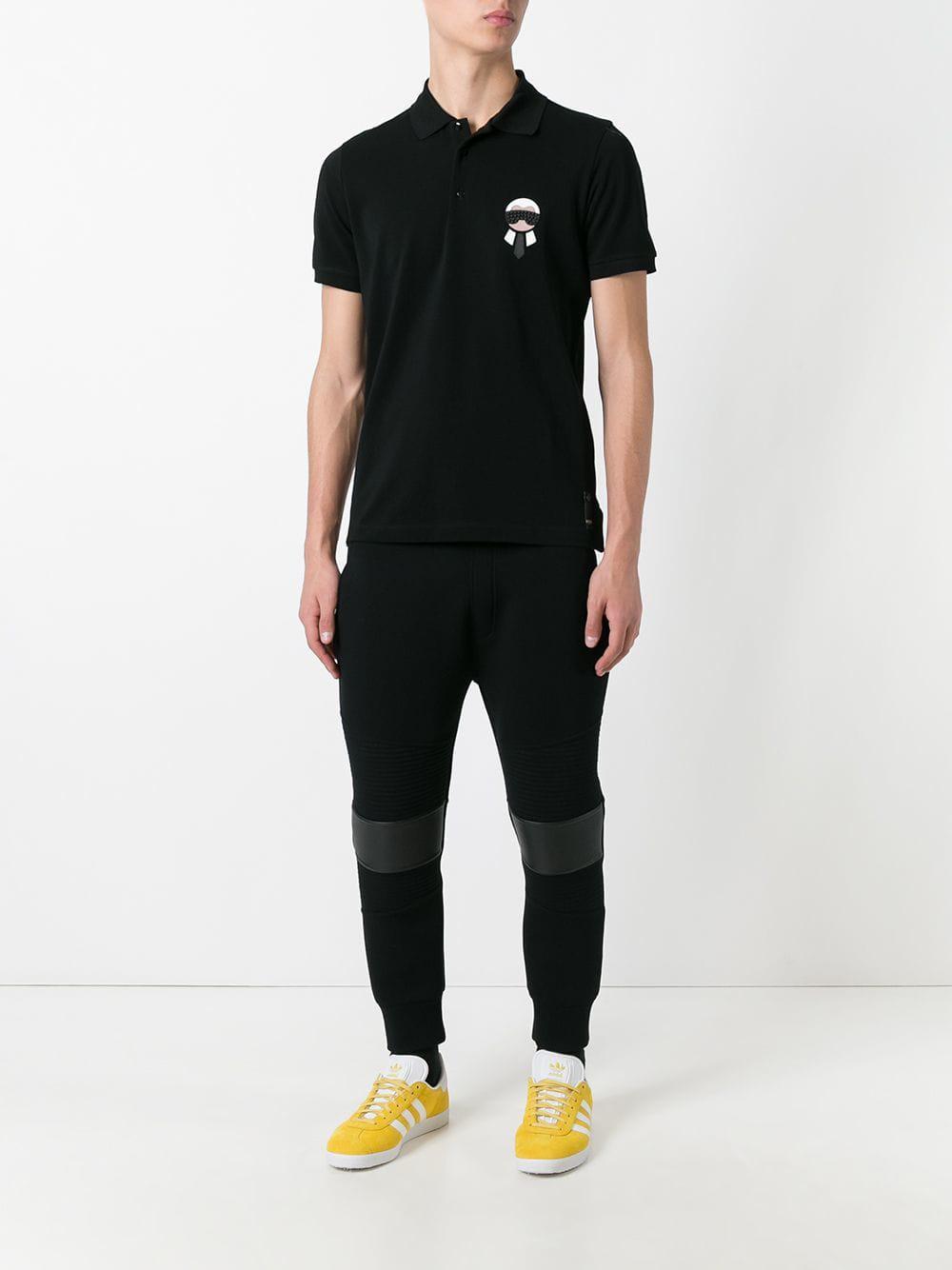 Ornement Noir En À T Karlito Lyst Shirt Fendi Homme TwnnxEpqX 164f3170c21