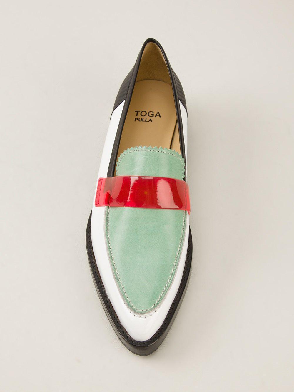 TOGA PULLA Colour block loafer dimUOqUZ