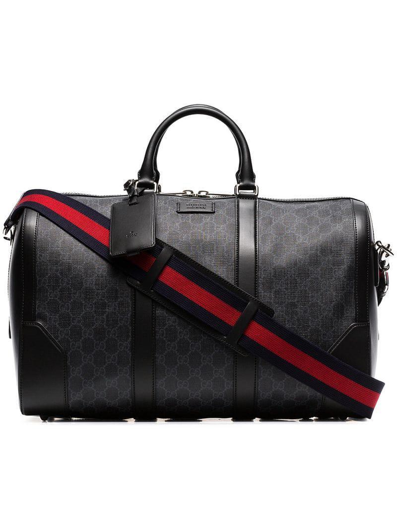 d4d1a0cf7f4a Lyst - Sac fourre-tout Suprême GG Gucci pour homme en coloris Noir ...