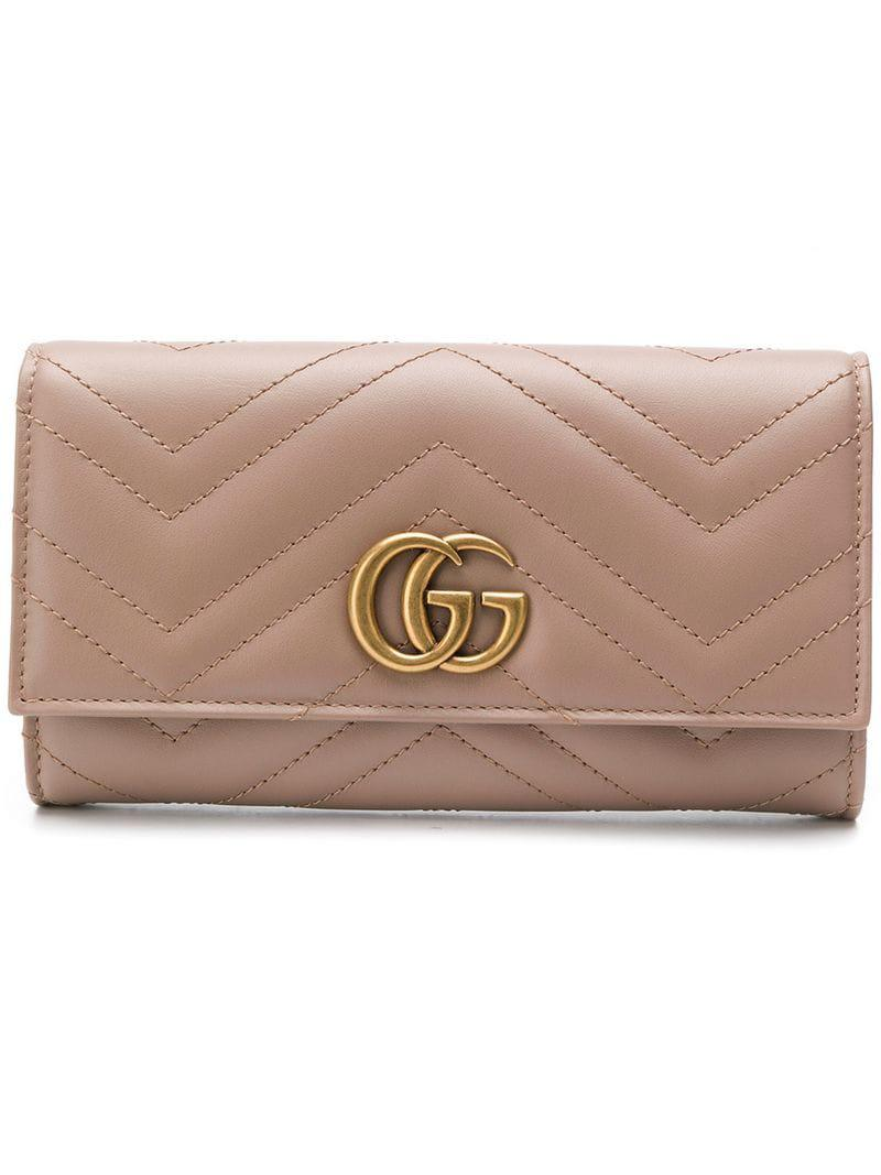 a0c96e079d13 Gucci. Women's GG Marmont Continental Wallet