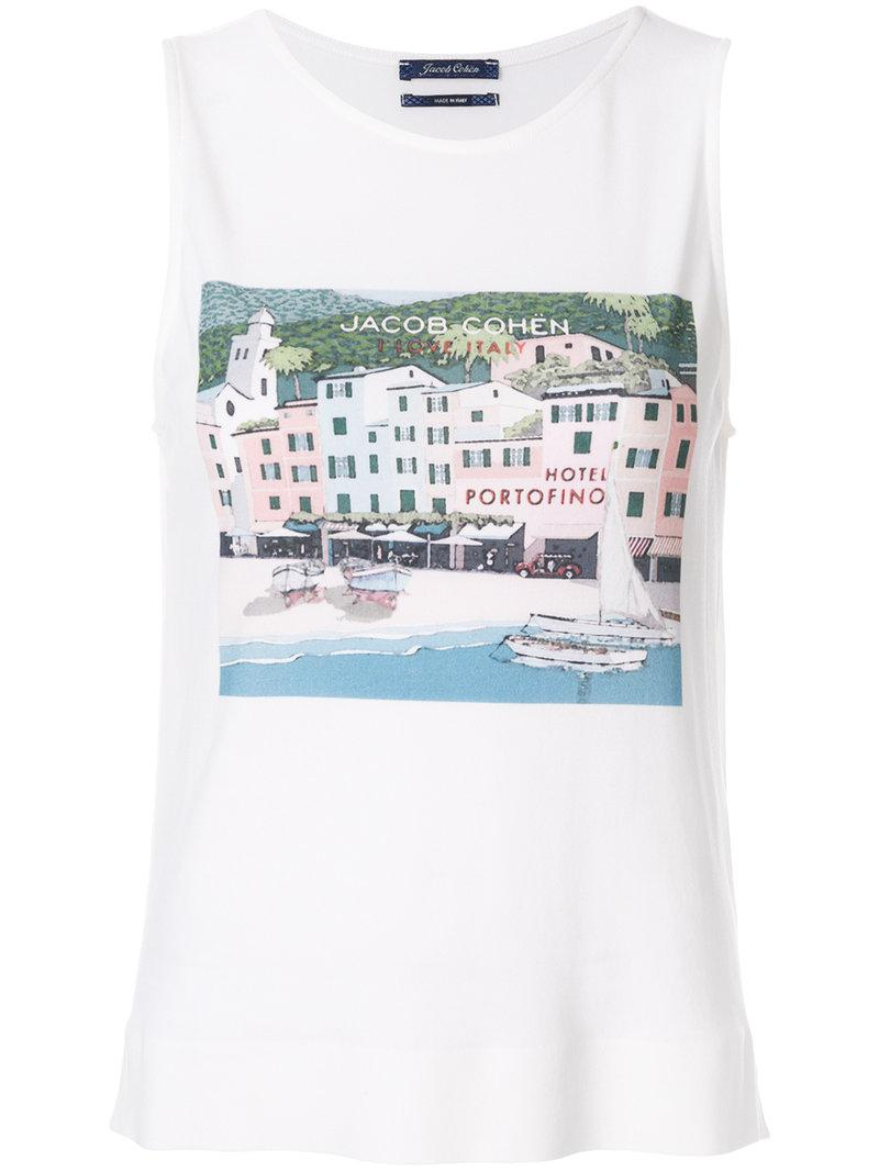 100% Original Portofino tank top - Nude & Neutrals Jacob Cohen Free Shipping With Mastercard Sale Geniue Stockist Outlet Low Shipping Fee 38BOdOr2