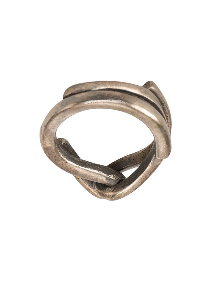 Tobias Wistisen Chaotic ring - Metallic nsaiWak4Vg