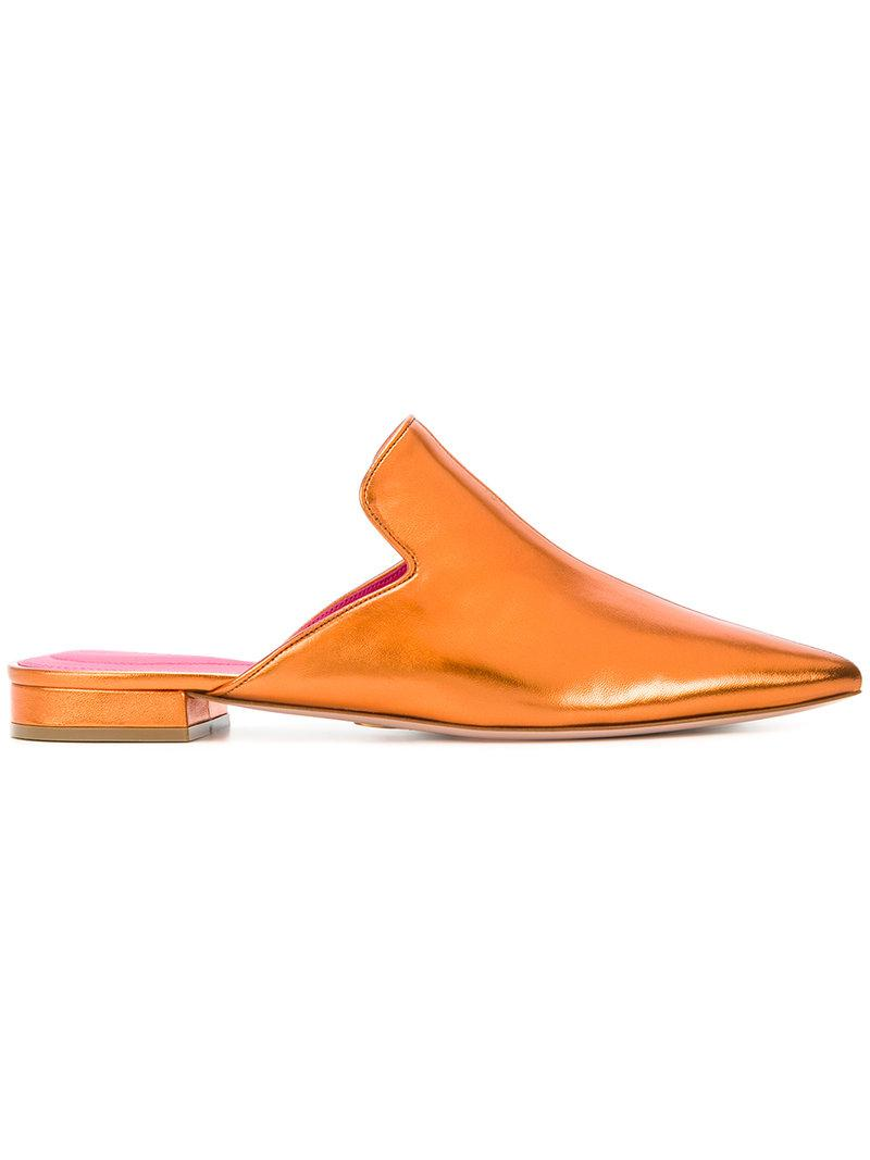 Alice slippers - Metallic Oscar Tiye Whole World Shipping Cheap Sale Professional 2OIeHZ