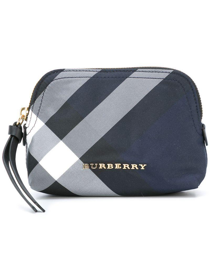 Lyst burberry embroidered polyester beauty case burberry beauty case jpg  800x1067 Burberry beauty case dc770d6199ac4