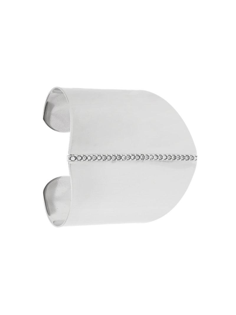 Federica Tosi crystal shield cuff - Metallic ChVlFK4