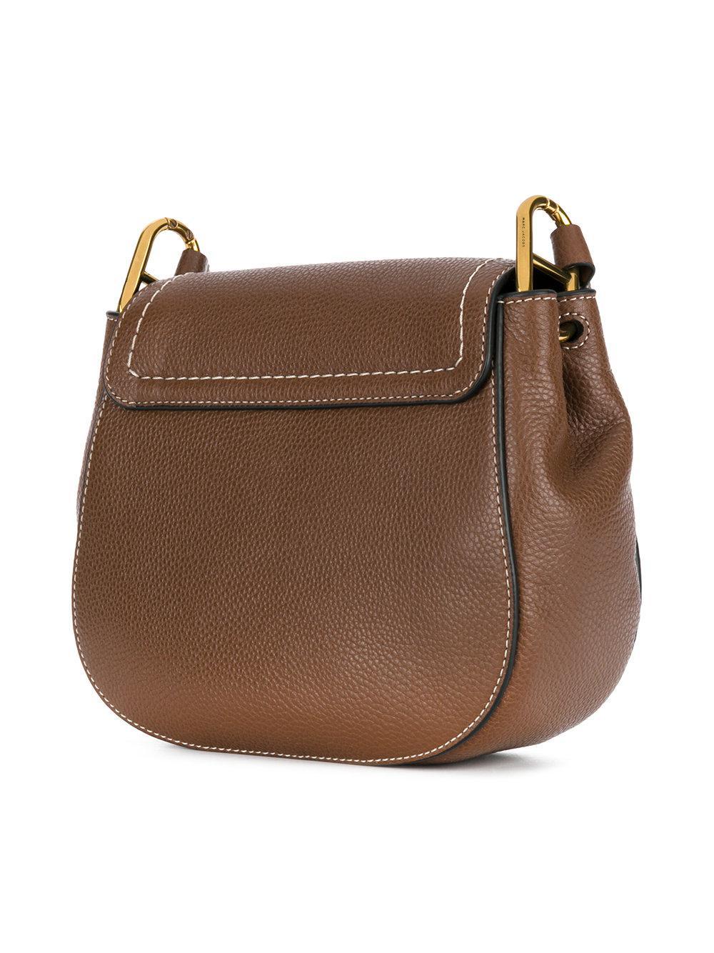 5308682a5a86 Lyst - Marc Jacobs Mini Maverick Shoulder Bag in Brown