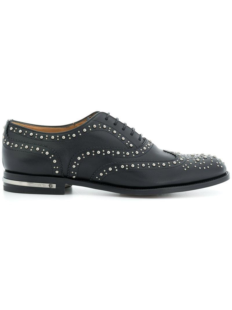 Church's embellished Burwood lace-up shoes clearance Inexpensive supply sale online gxVD6