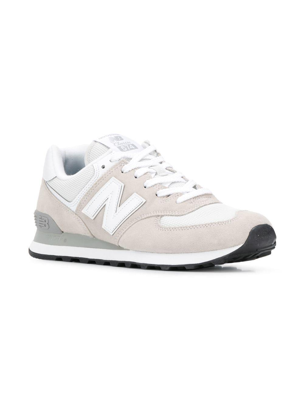 bfbfef3e10 Lyst - New Balance 574 Sneakers in White for Men