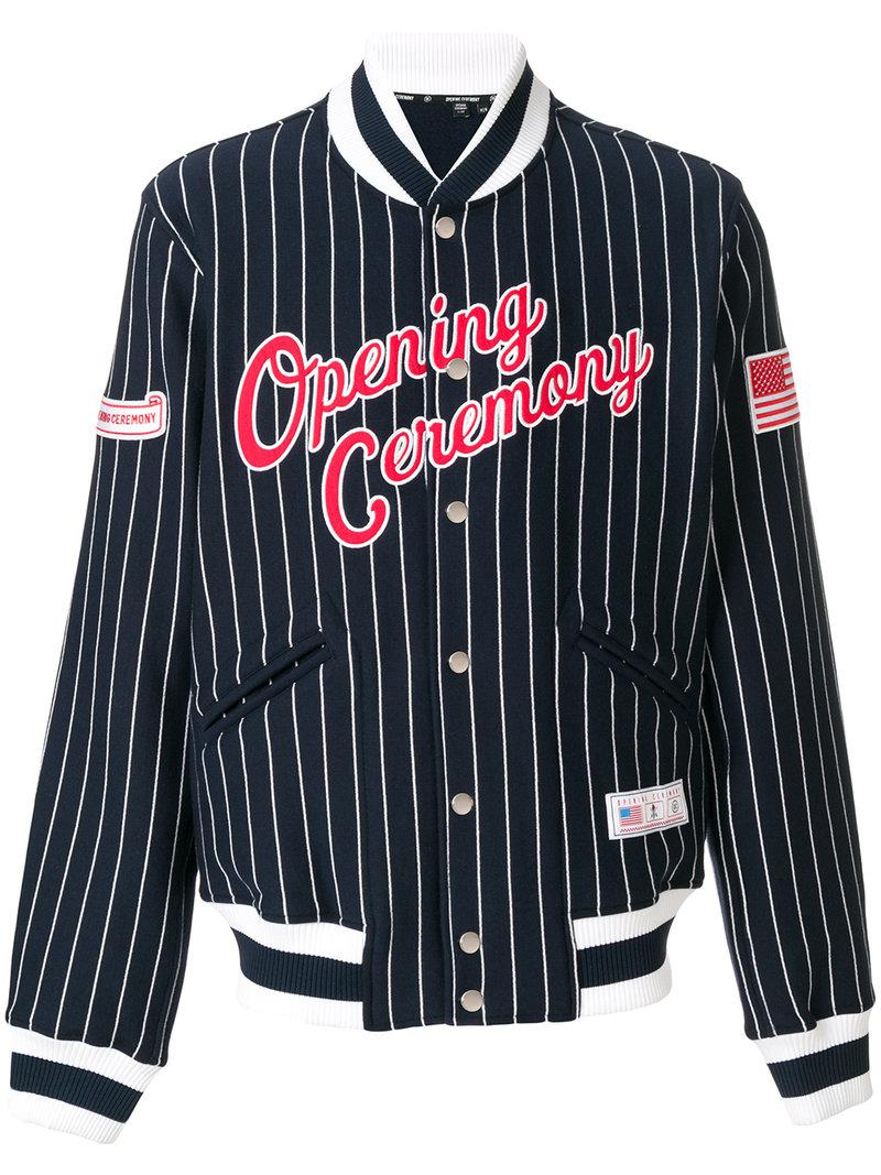 Opening Ceremony baseball style bomber jacket New For Sale Eastbay Cheap Online rJShf