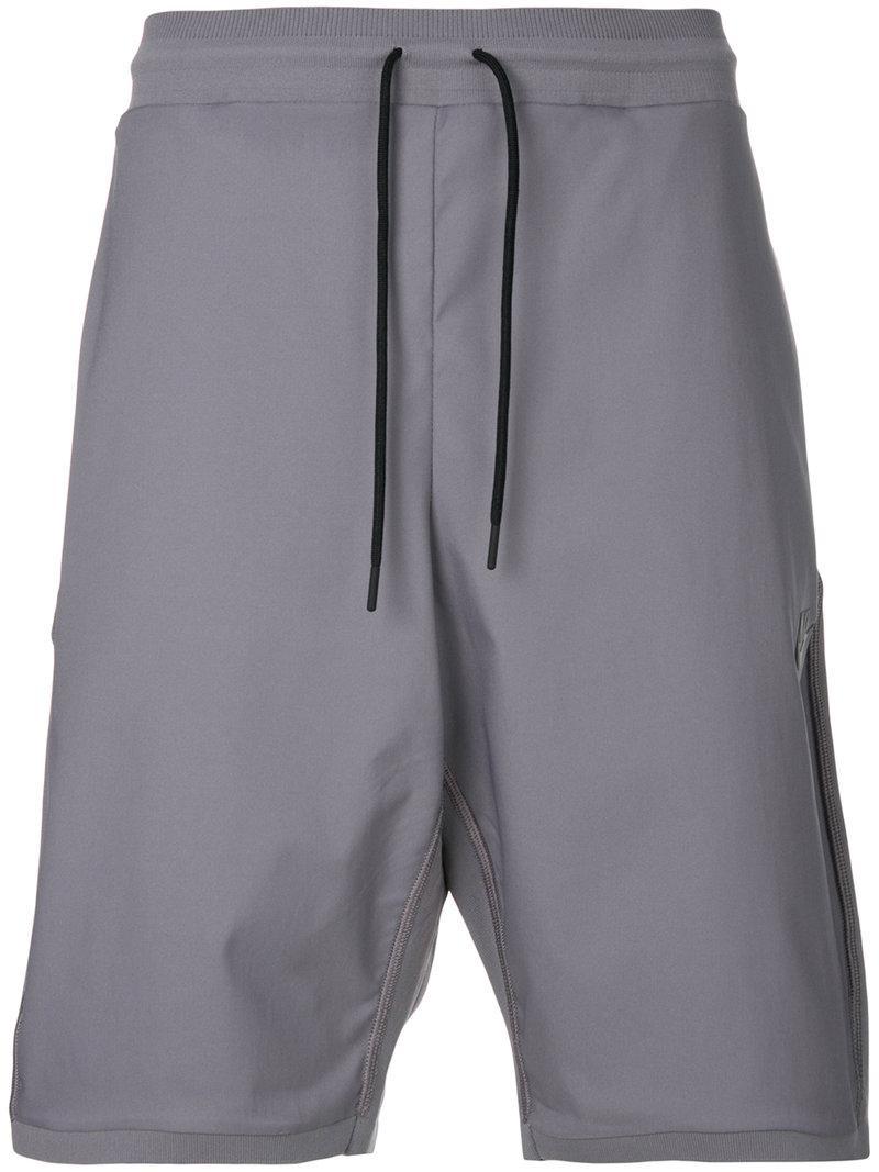 Nike Tech Knit Shorts in Gray for Men - Lyst 0b7c9da0a5d
