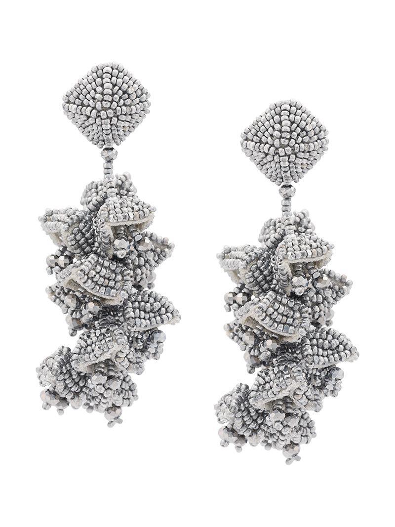 Sachin & Babi Grapes Earrings Black JFoJeZ4YJH