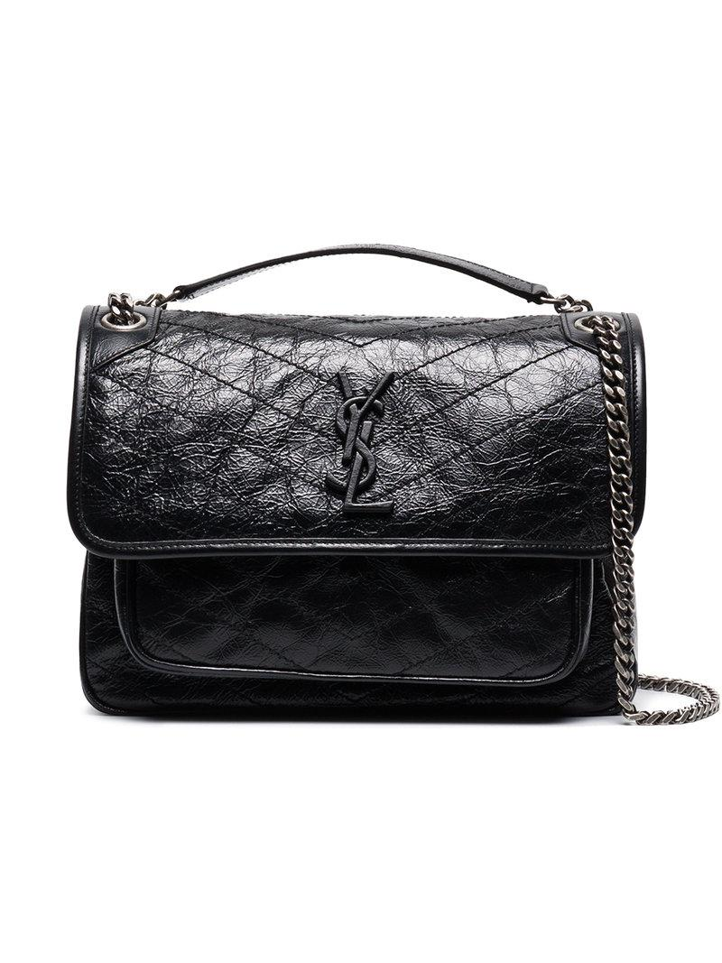 Saint Laurent Niki Monogram Bag in Black - Save 2% - Lyst 7f66460714