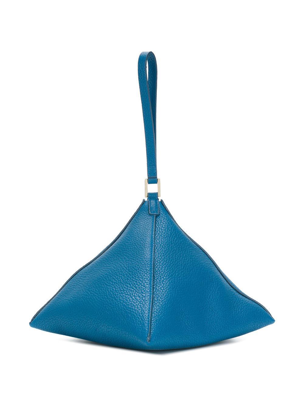 Pochettes 3 Coloris Angle En Sander Jil Bleu Lyst 7qa4wpRp