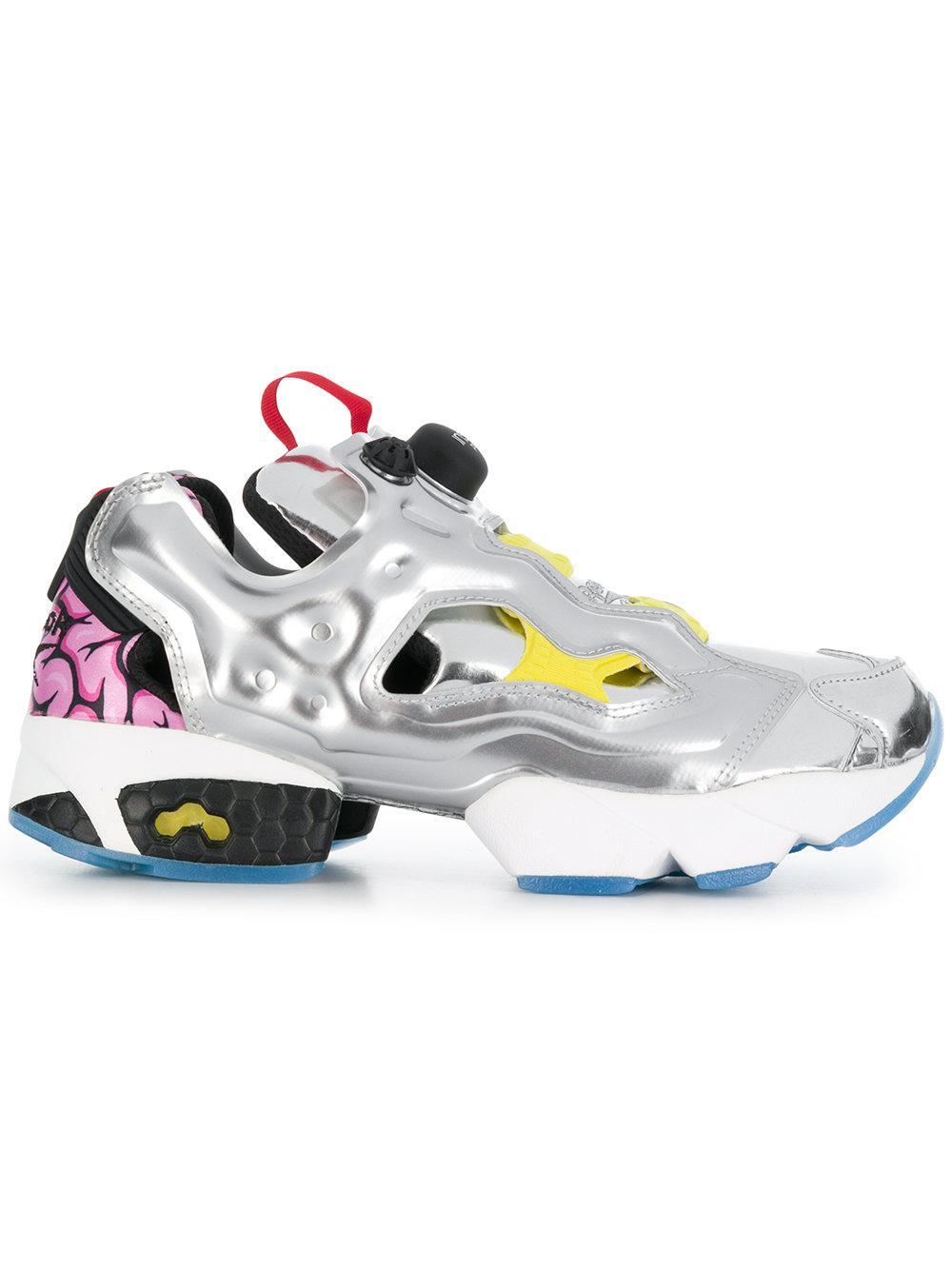 b38a1ec2de3 Lyst - Reebok Instapump Fury Og Vp Sneakers in Metallic