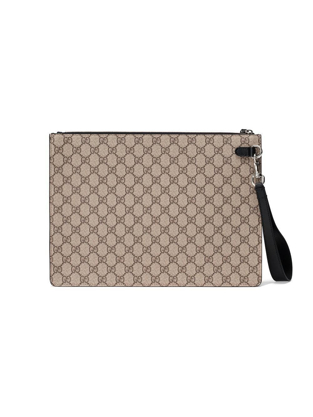 Gucci - Multicolor Pochette Suprême GG à bande Web for Men - Lyst. Afficher  en plein écran 31bbfffaabc