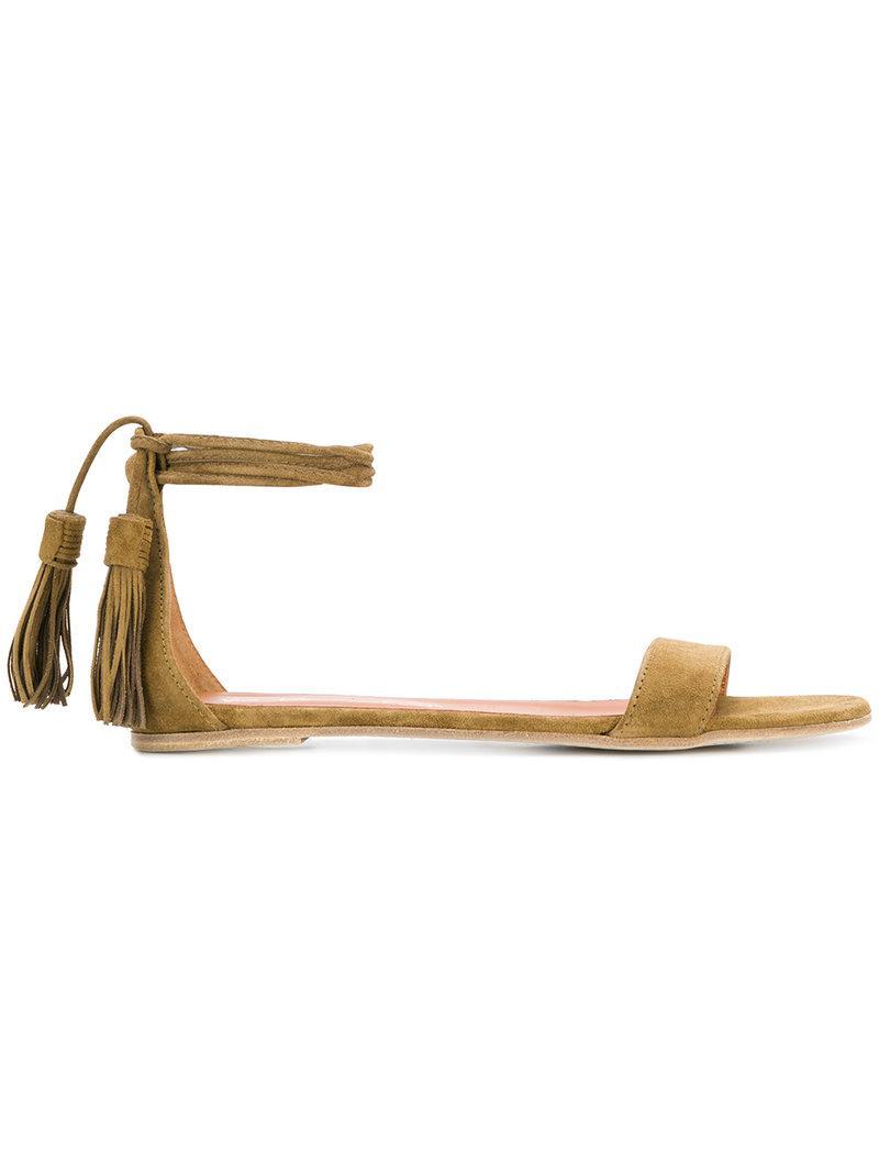 ankle strap sandals - Brown Via Roma 15 qYvNl