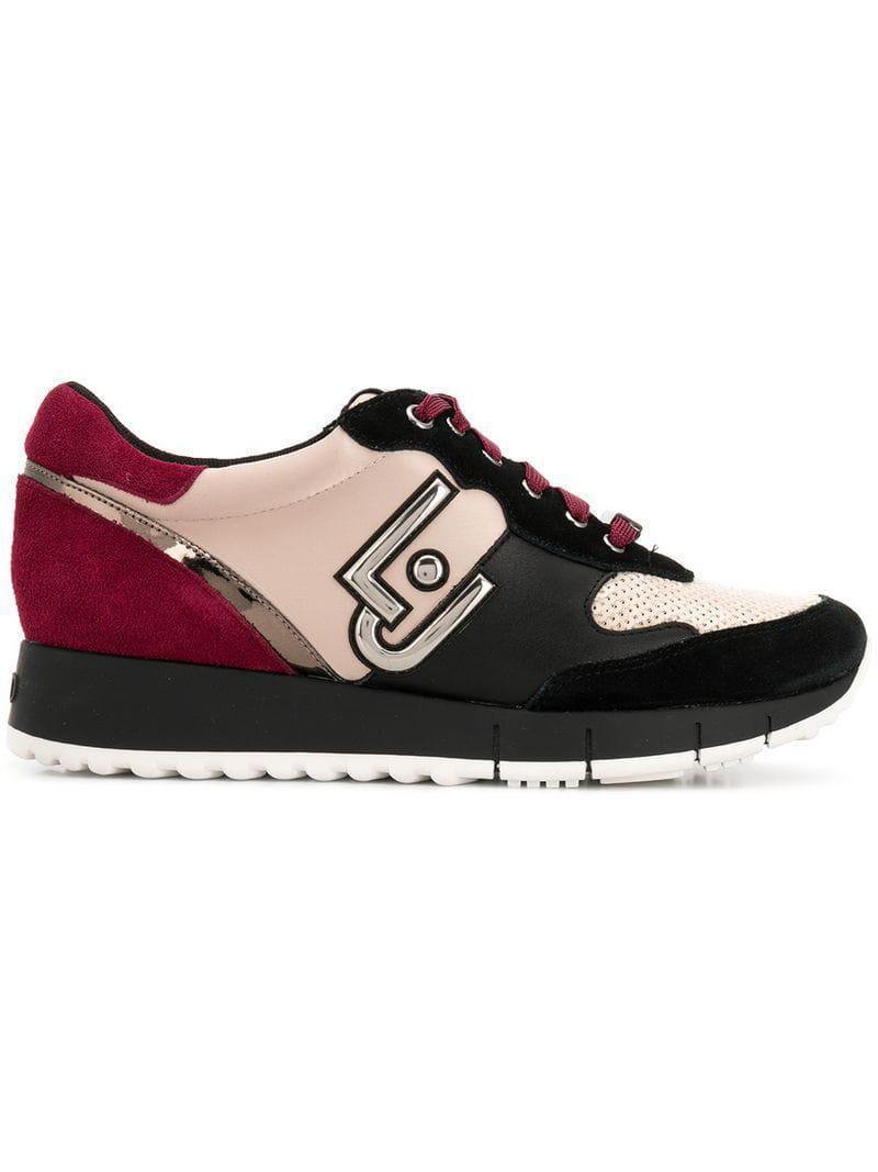 Lyst - Liu Jo Gigi Sneakers in Black 204e2afd331
