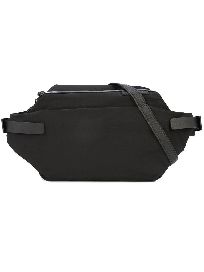 cee9022b4804 Lyst - Y s Yohji Yamamoto Waist Belted Mini Bag in Black