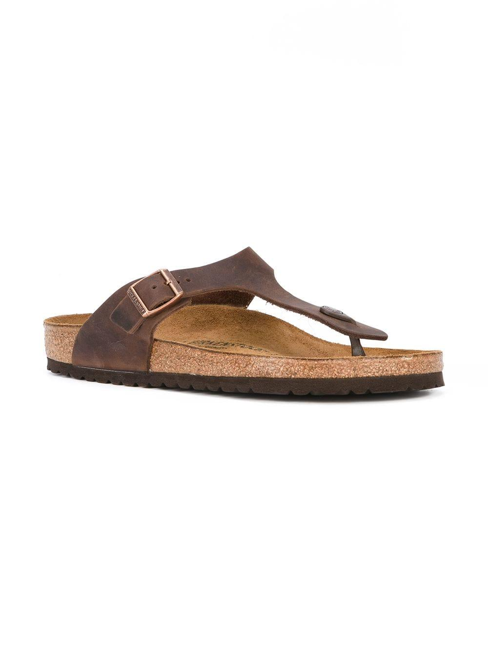 f46165c5160 Lyst - Birkenstock T-bar Sandals in Brown for Men