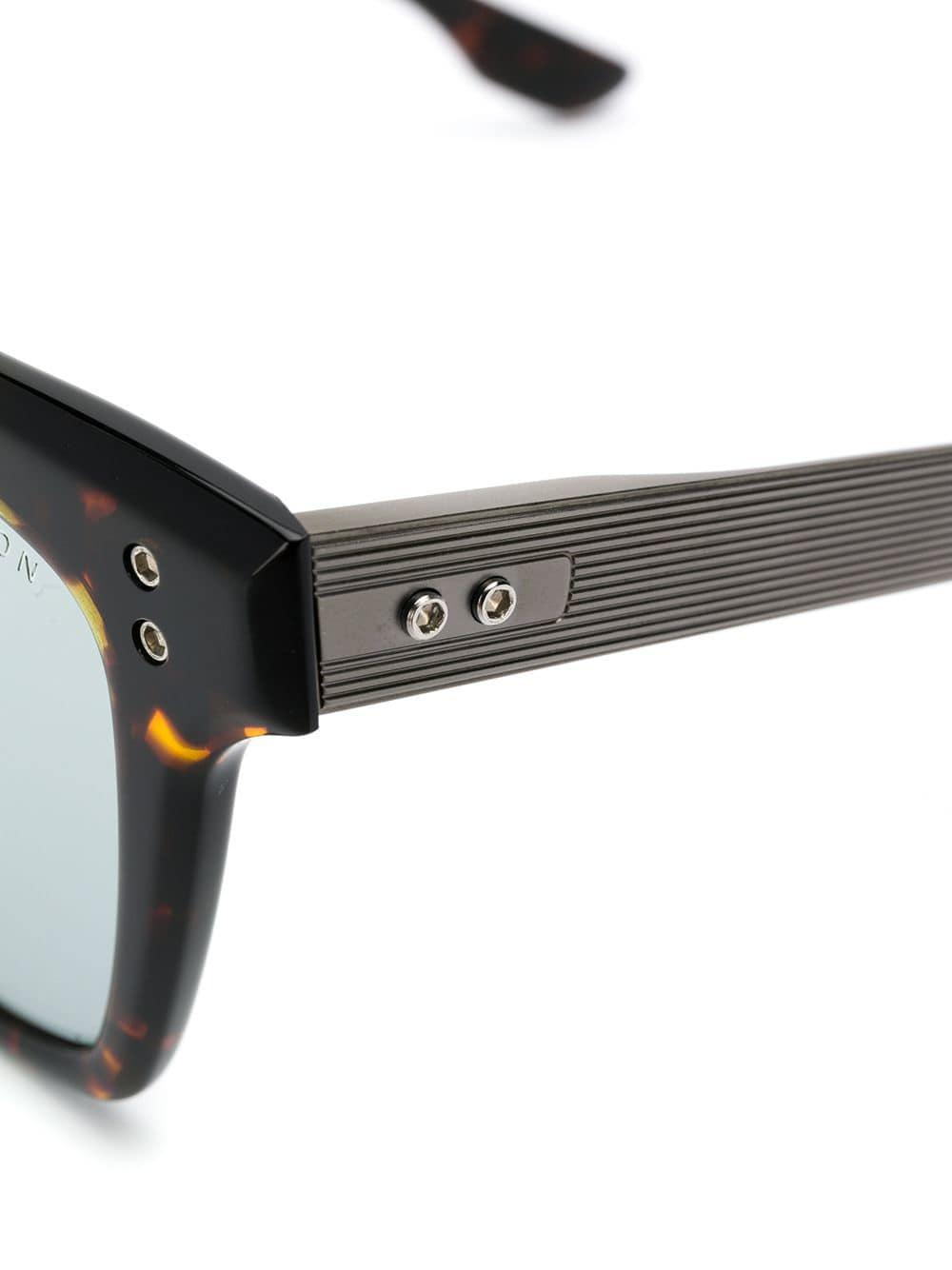 d6cf460f078 Dita Eyewear Square Frame Sunglasses in Brown - Lyst