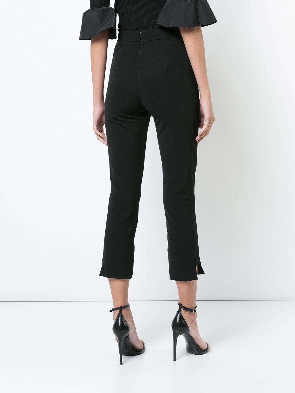 cropped tailored trousers - Black Cushnie et Ochs