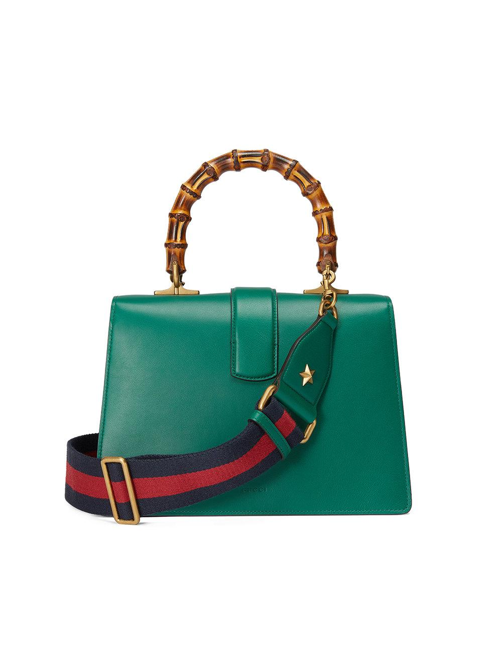 Dionysus leather top handle bag - Green Gucci 6Z8LUalJuP