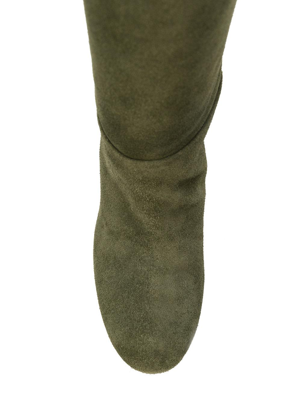 549ebfc29beb Tory Burch - Green Brooke Slouchy Boots - Lyst. View fullscreen