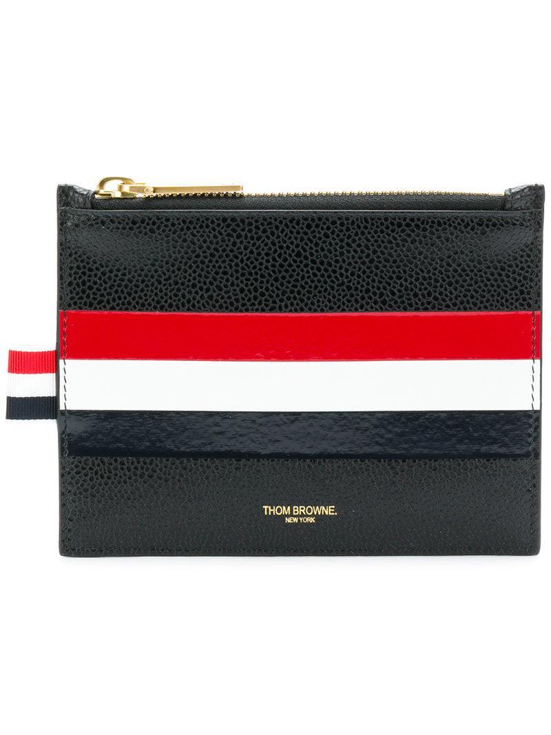 small zipped purse - Black Thom Browne Ix0BsAsK