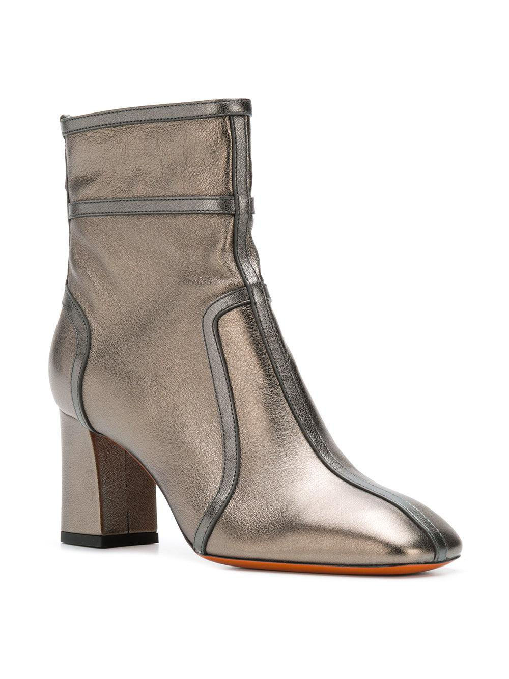 Santoni metallic ankle boots shipping discount sale outlet amazon newest sale online NDbYawR