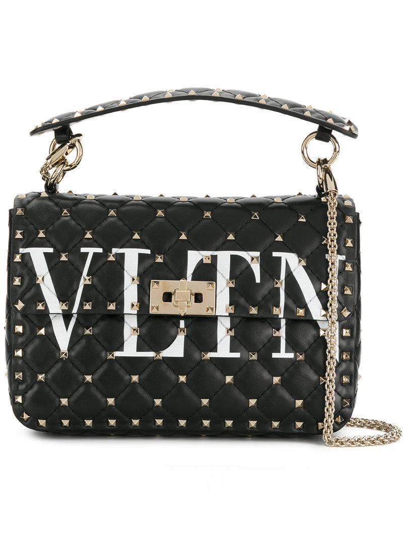 Apprendre À Acheter En Ligne Commerce À Vendre Valentino Embrayage Vltn - Noir ZI6dztOSqJ