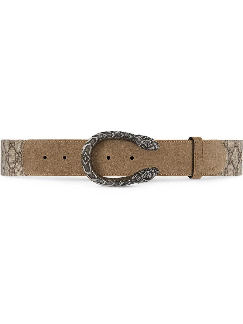fe716f9f0 Gucci. Women's Dionysus GG Supreme Belt