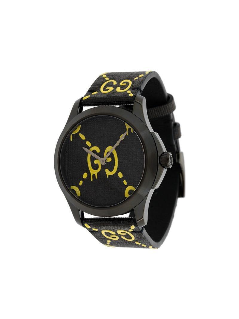 1331f3fdc Gucci - Black Reloj Ghost G-Timeless for Men - Lyst. Ver en pantalla  completa