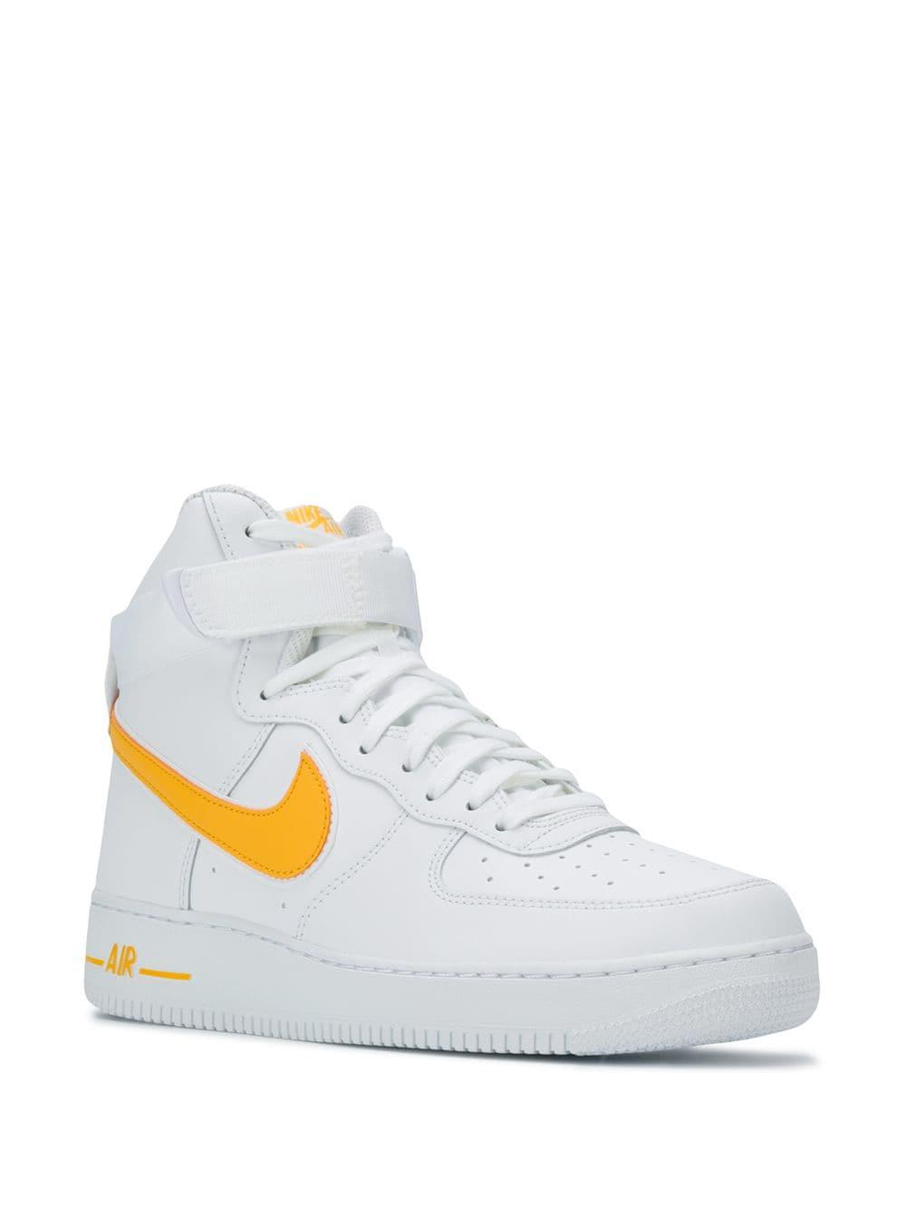 size 40 e58b6 8ff98 Nike - White Air Force 1 High Sneakers for Men - Lyst. View fullscreen
