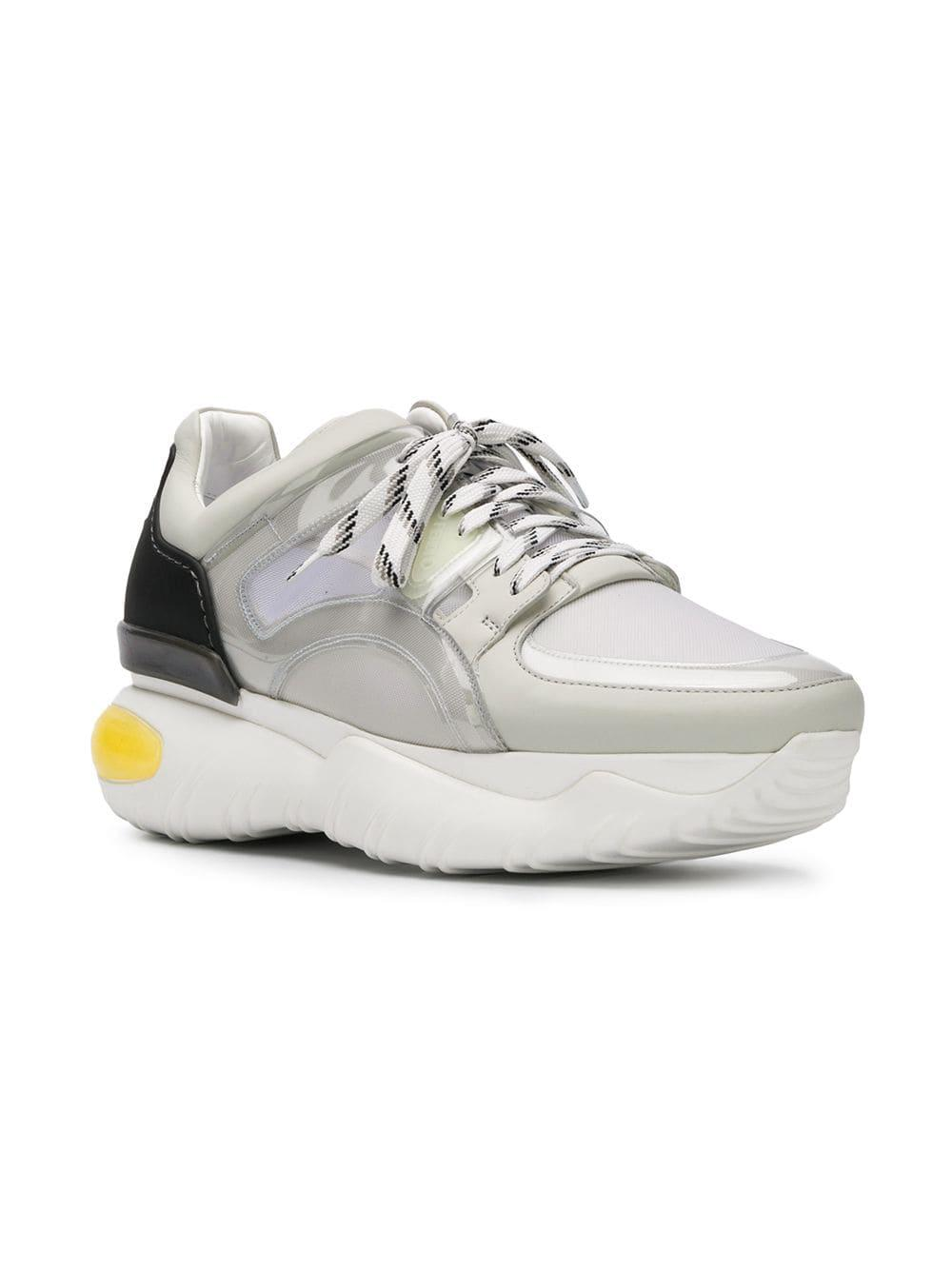 48321368e Fendi Elevated Sole Runner Sneakers in Gray for Men - Save 46% - Lyst