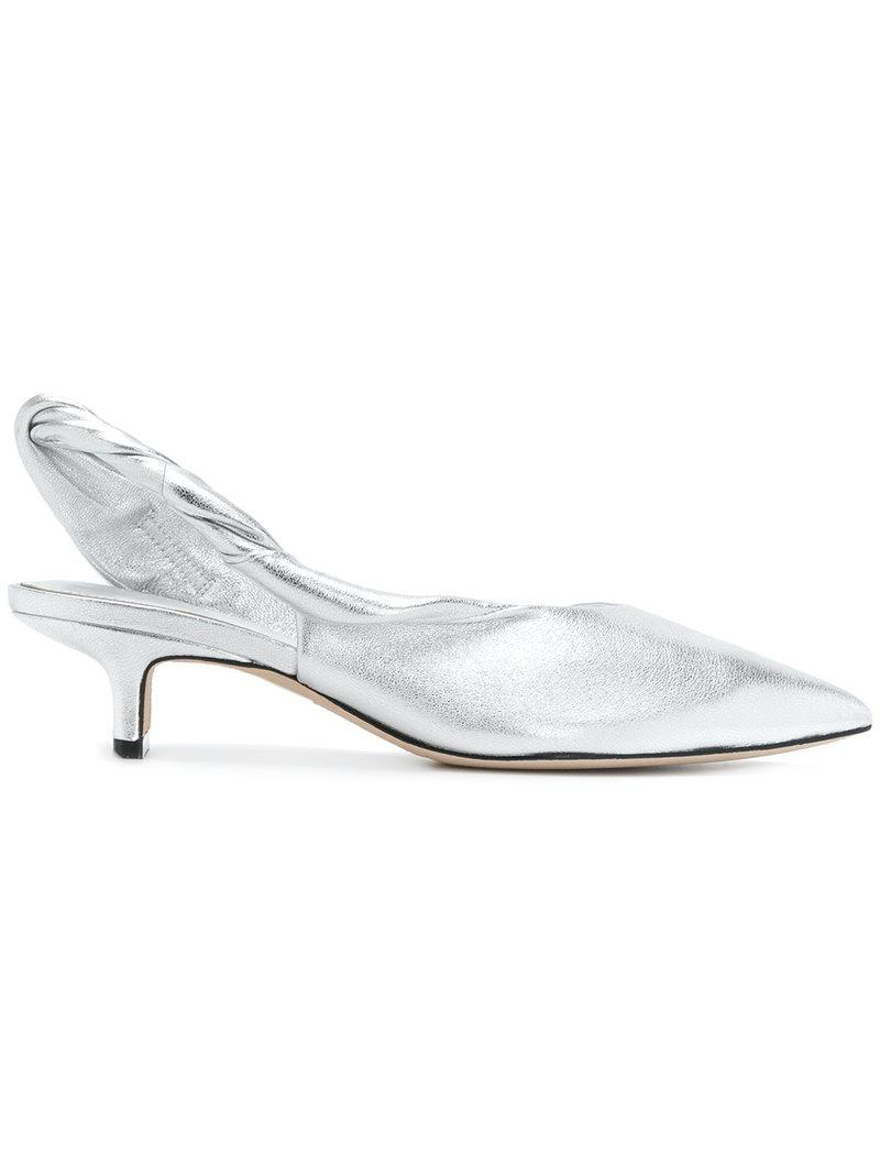 5fcfabb7bcc Sigerson Morrison Melina Pumps in Metallic - Lyst