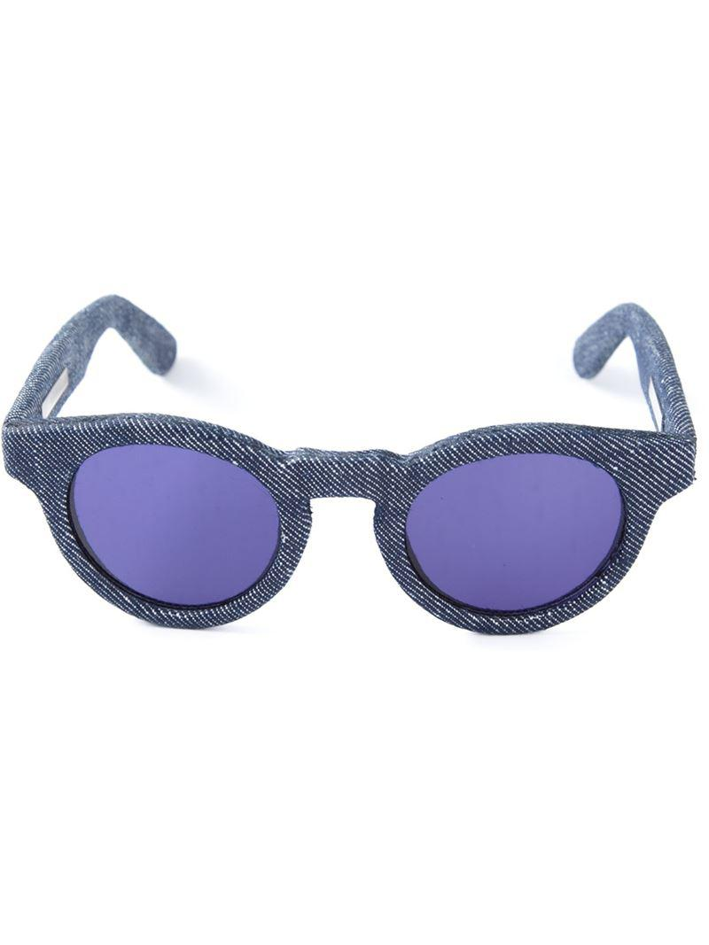 06be0429b80 Ross   Brown  habana  Sunglasses in Blue for Men - Lyst