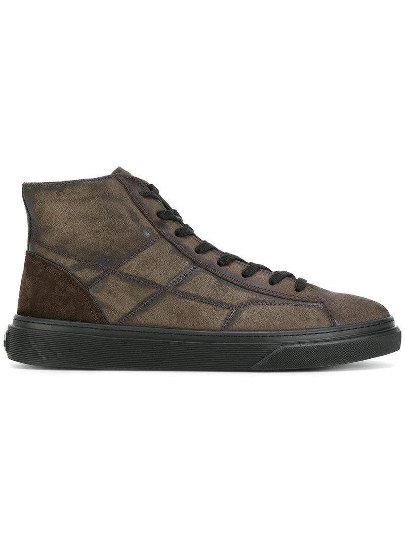 Hogan patchwork detail high tops outlet locations cheap price free shipping discount hOPmR