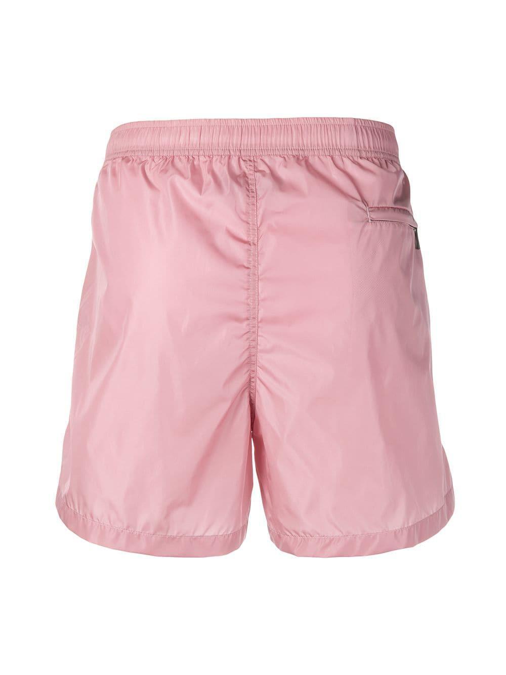 061f236f3c Lyst - Valentino Vltn Swim Shorts in Pink for Men