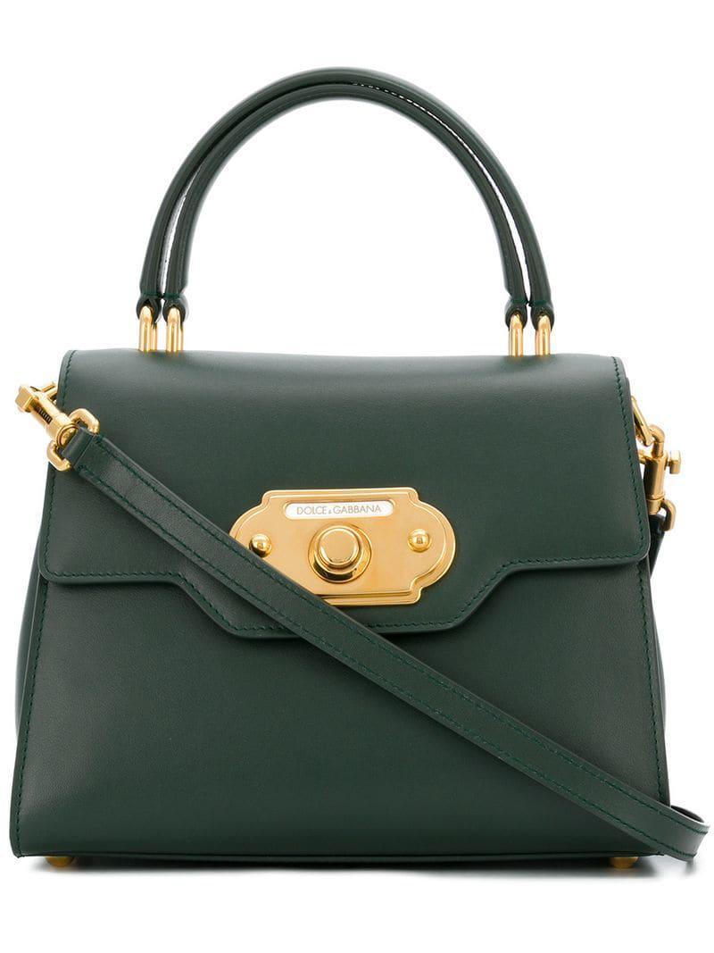 Dolce   Gabbana Welcome Handbag in Green - Lyst 20aaf547761f1