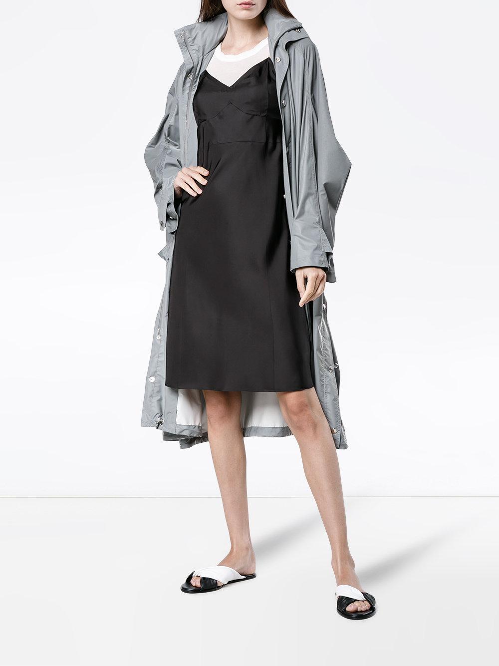 5e4b5f060ac97 Helmut Lang - Black Matte Slip Dress - Lyst. View fullscreen