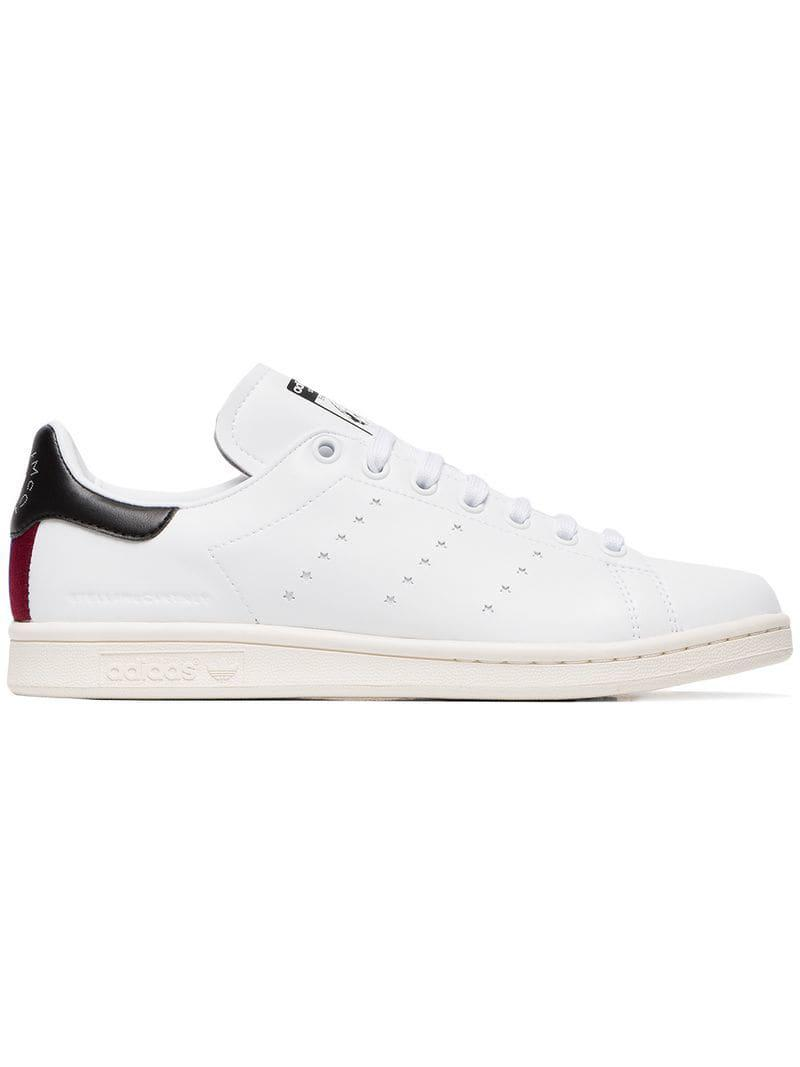 c98bb4c10843 Lyst - Stella McCartney White Stan Smith Sneakers in White - Save 26%